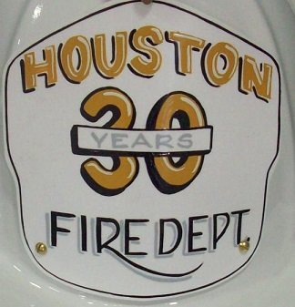 30 Year Retired Firefighter Shield