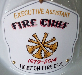 Fire Chief Shield