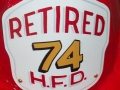 Retired Firefighter Shield