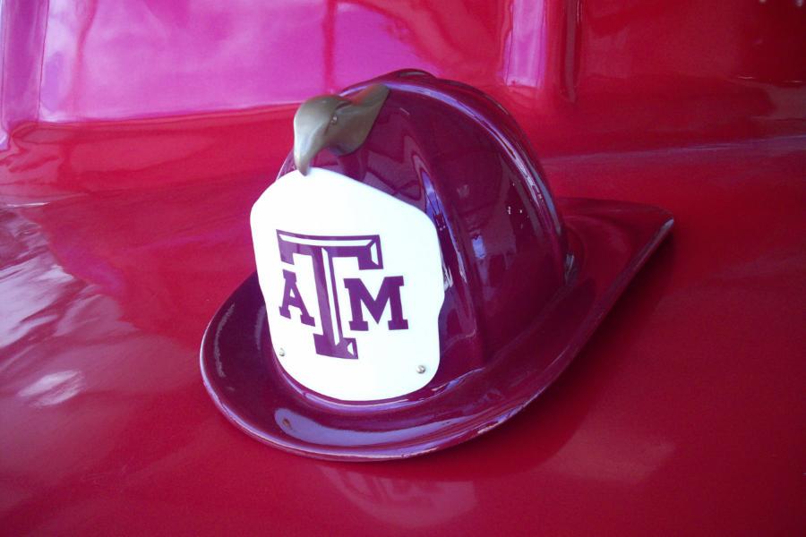 Aggie Fire Helmet