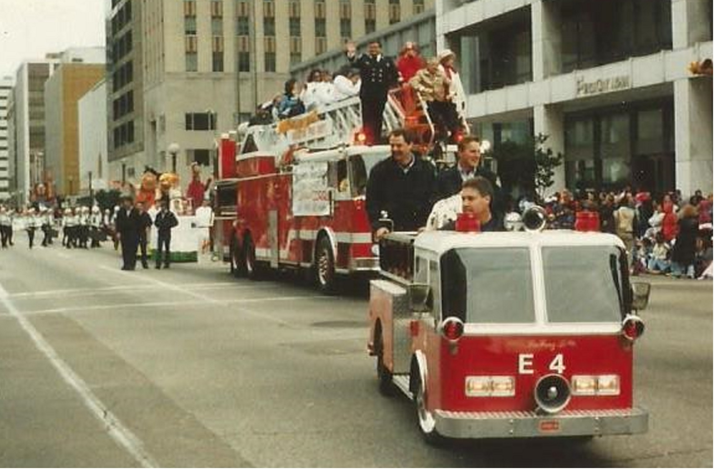 Mini Fire Truck in a Parade