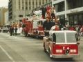 Mini Fire Truck in a Parade