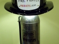Fire Helmet Lamp - Black Helmet