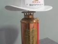 Fire Helmet Lamp - White Helmet